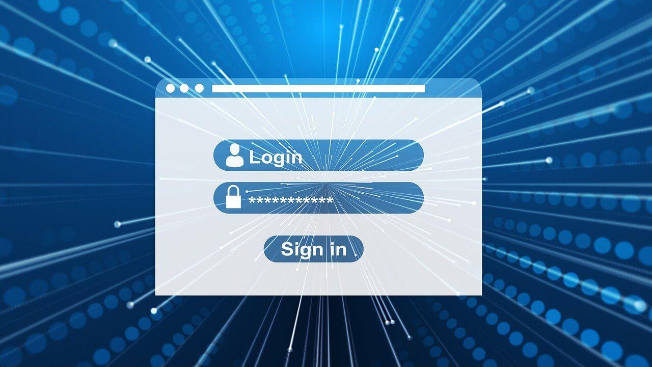 login, register, window